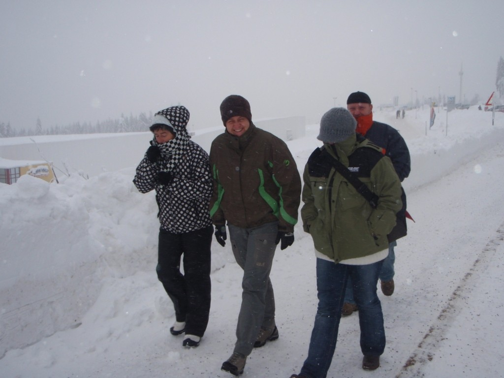 ...wo uns unsere Reisefreunde Heike&Rainer, Astrid&Lolly in Empfang nahmen!