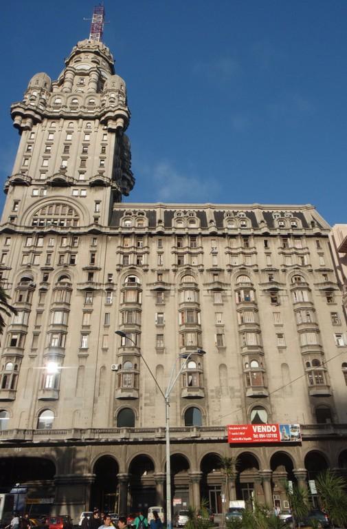 in der Hauptstadt Montevideo, das einst höchste Gebäude Südamerikas