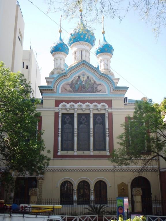 Kirche neben dem Park