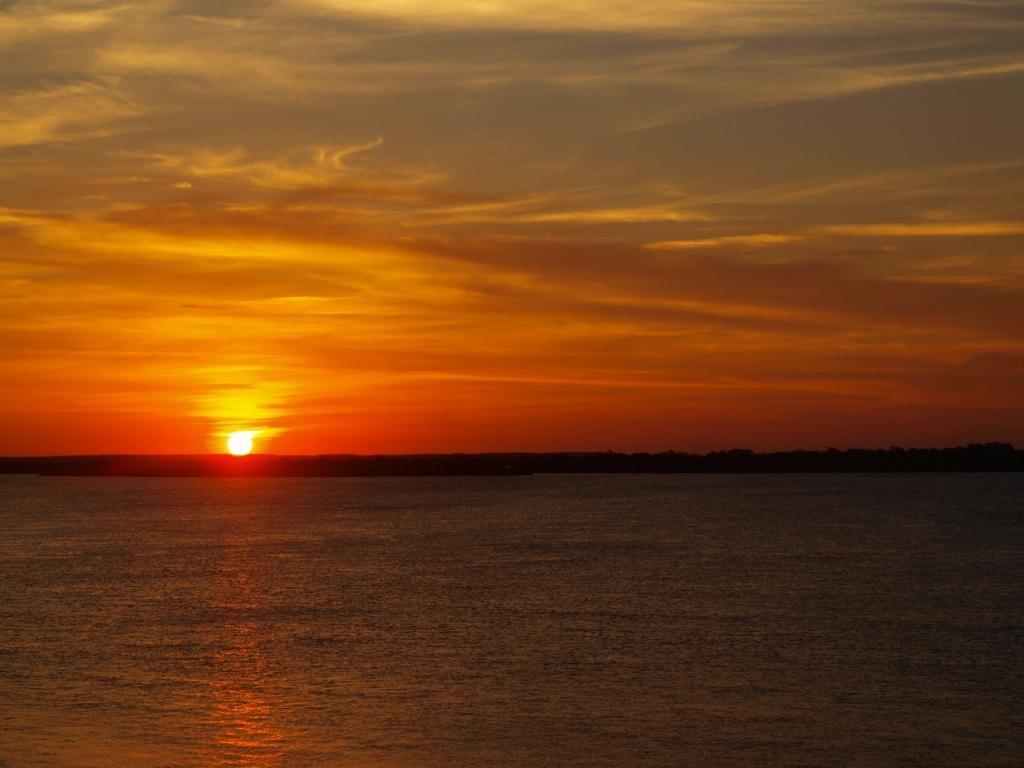 wieder mal ein Sonnenuntergang
