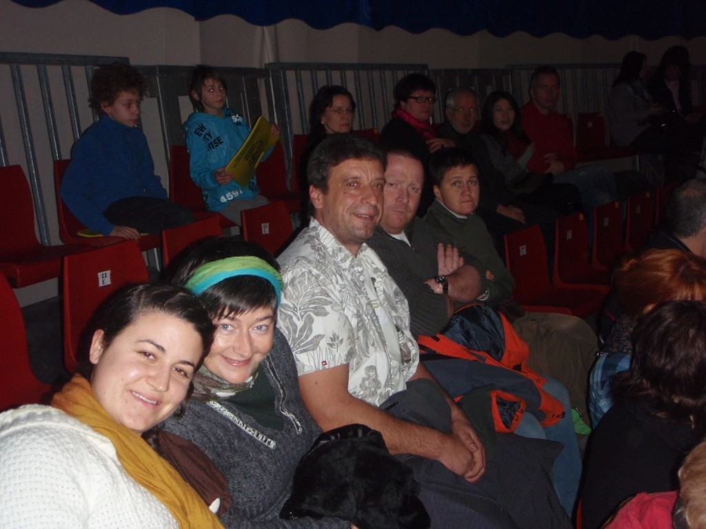 Einen tollen Theaterbesuch erlebten wir im Zelt in Meiningen