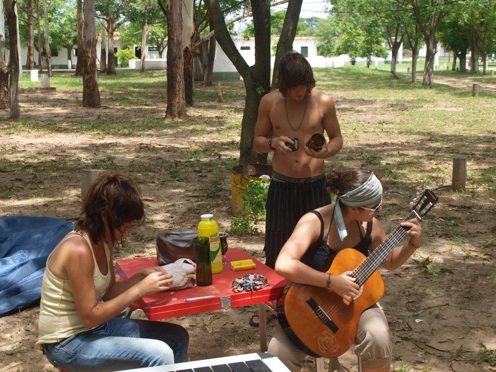 Gitarre spielen, basteln und einfach sein