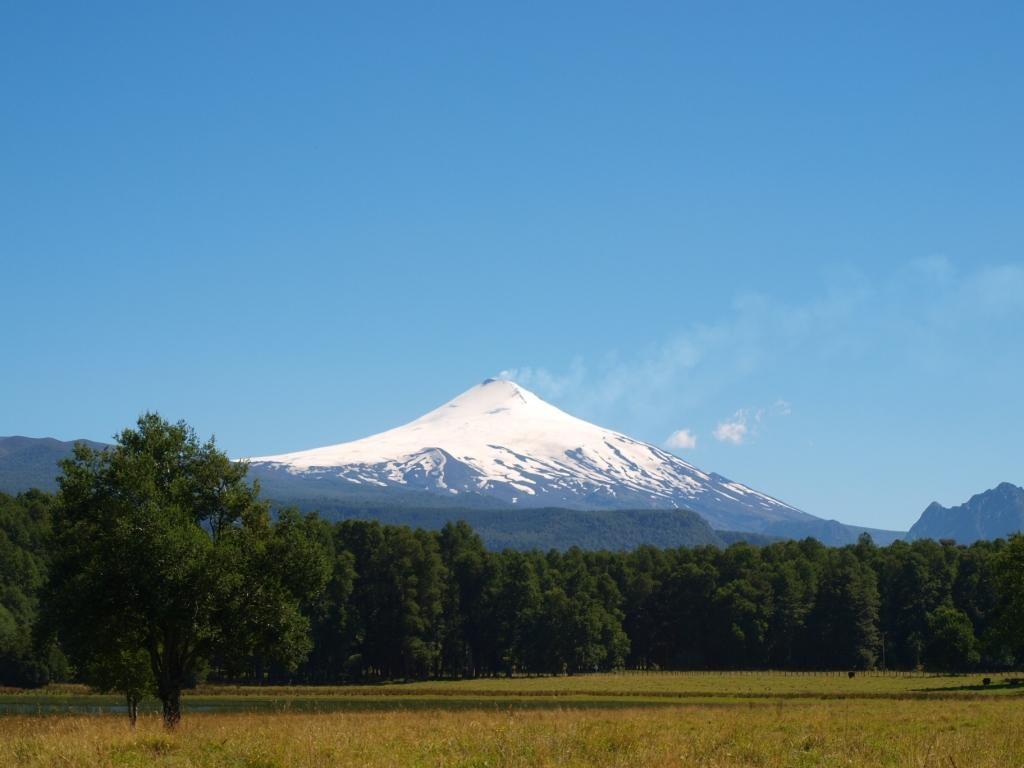Das erste mal ein rauchender Vulkan! Vulcano Villarica!