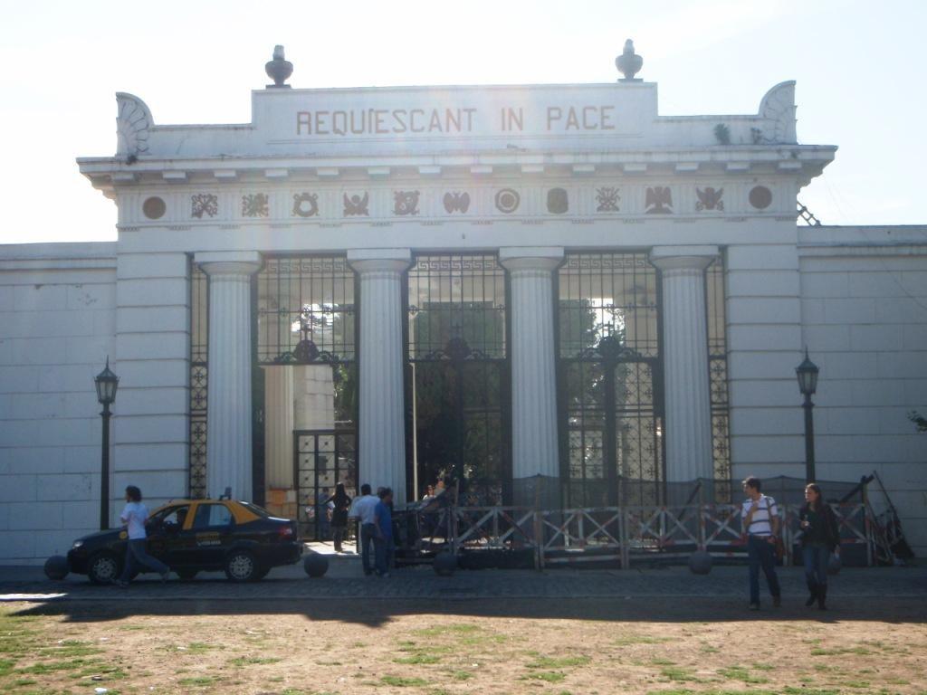 der berühmte Friedhof von Ricoleta