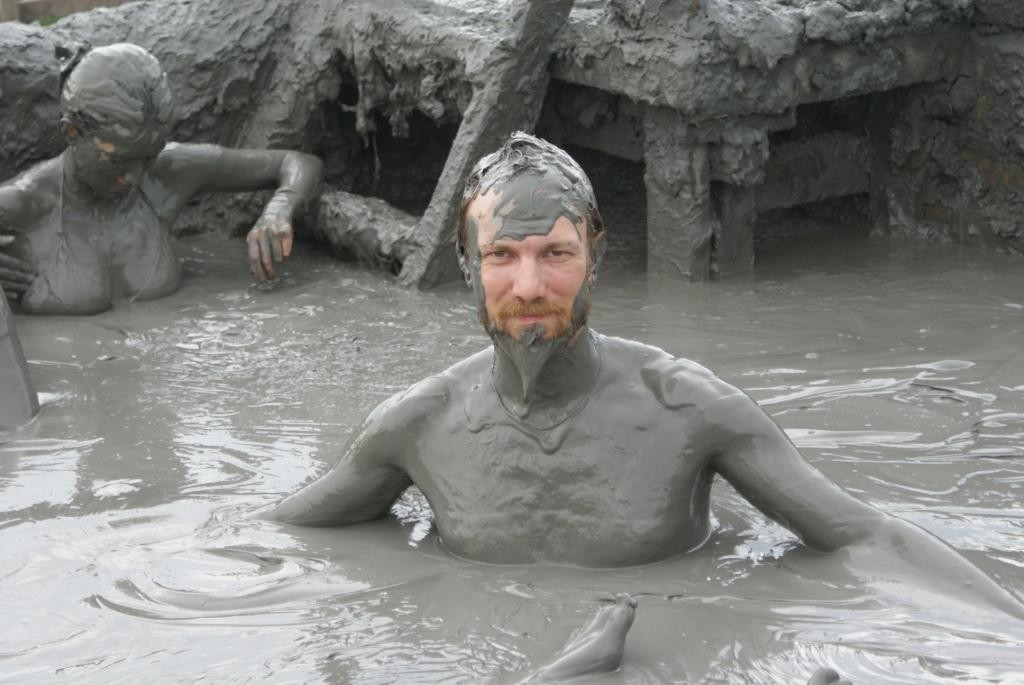 da kann man ein gesundes Schlammbad nehmen