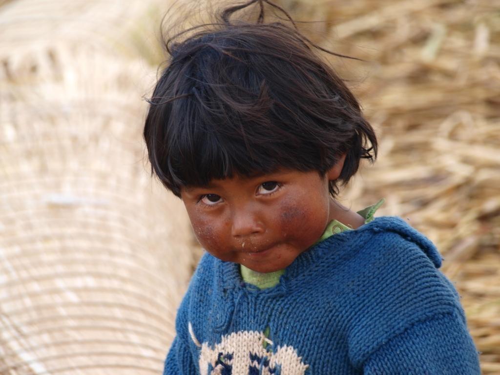 Quechua-Junge Isla Flotantes