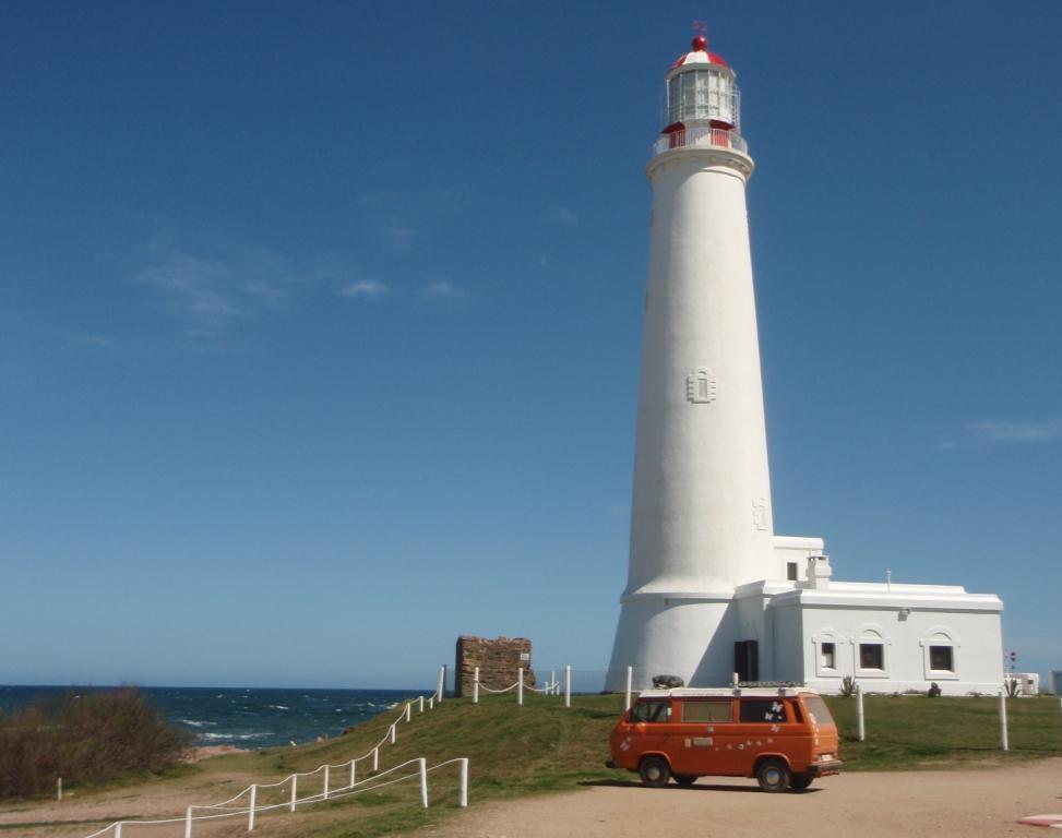 weiter der Küste entlang schauen wir uns einen Leuchtturm von innen an