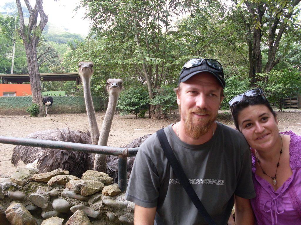 als Abschluss des schönen Wochenendes gings dann noch in den Zoo