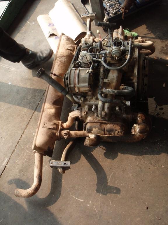 blieb uns nichts anderes uebrig als den Motor auszubauen