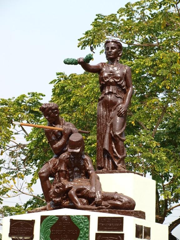 Denkmal für die gefallenen Kindersoldaten im Triple Allianzkrieg 1864-1870