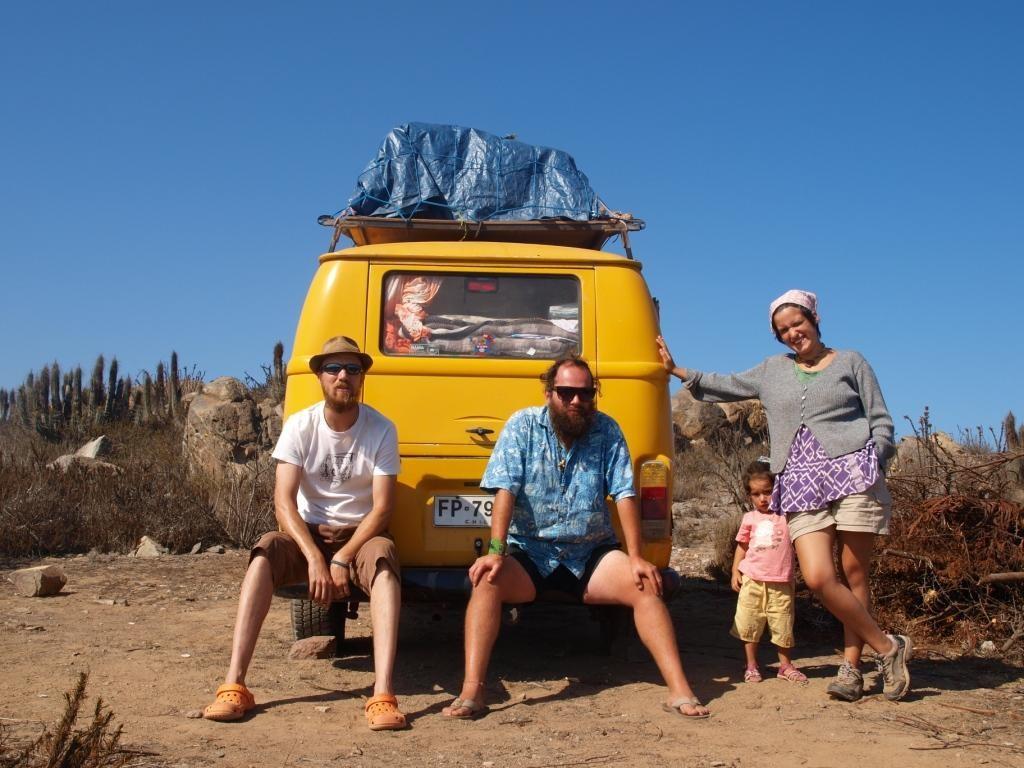 Klein-Hippie-Familie, eine kurze esoterische Begegnung