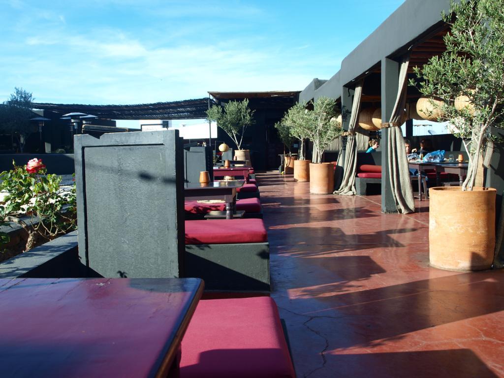 Terrasse des epices....(Trend Restaurant)