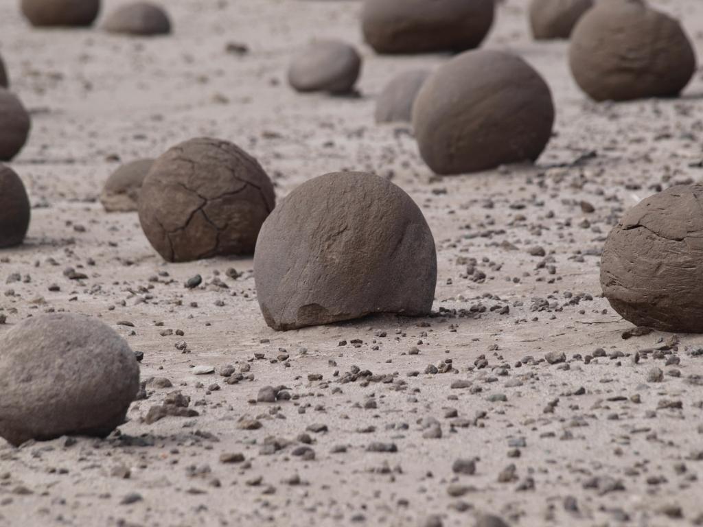 Formen im Valle de la Luna