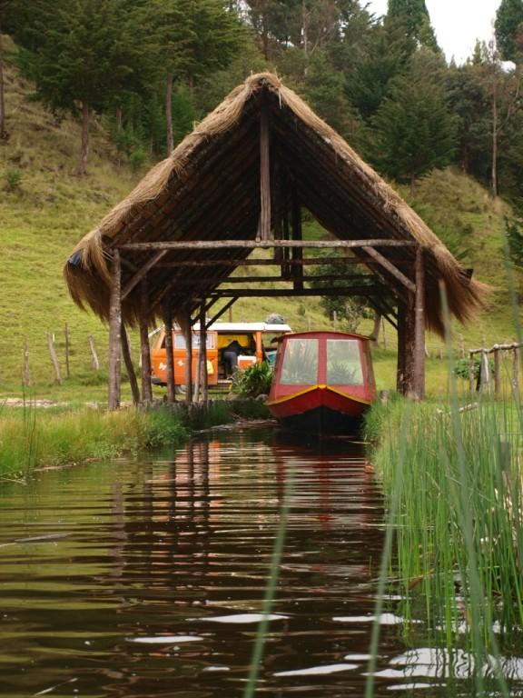an der schönen Laguna La Cocha