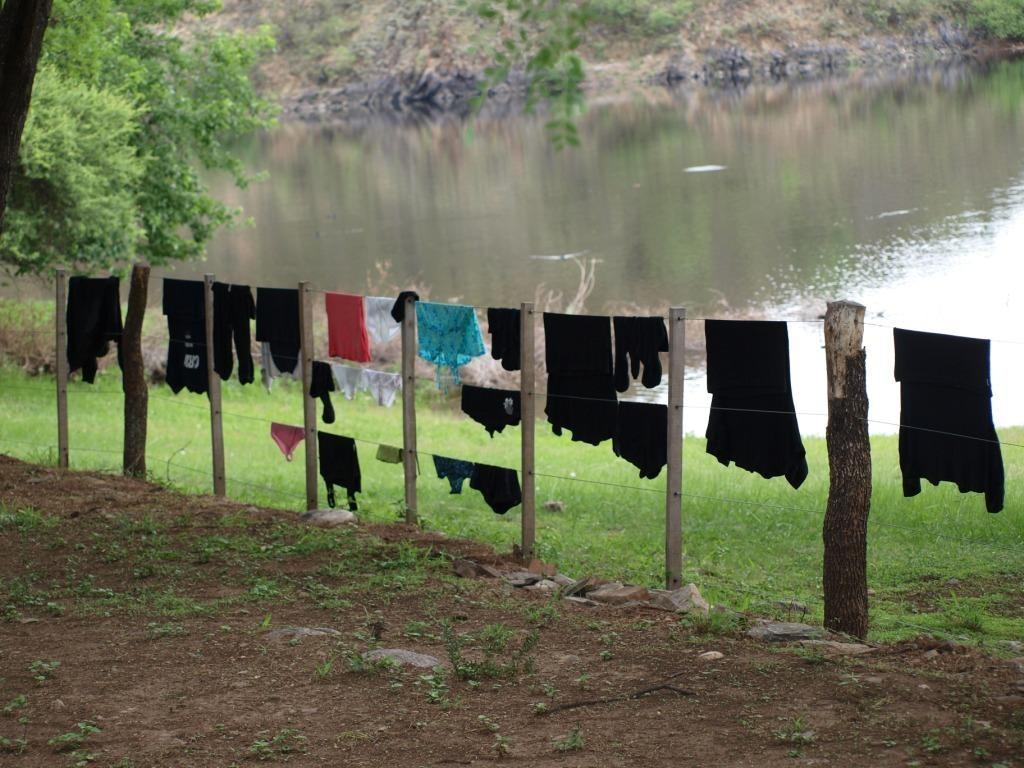 Wäsche trocken mal anders