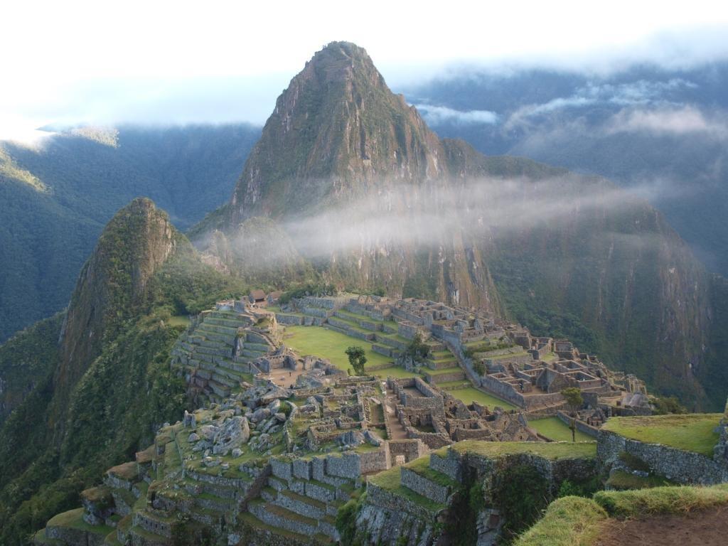 die vergessene Inka-Stadt Machu Picchu