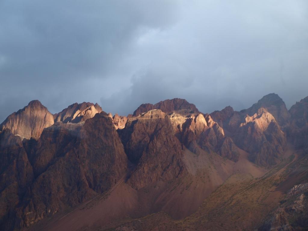 Bergwelt nach Santiago