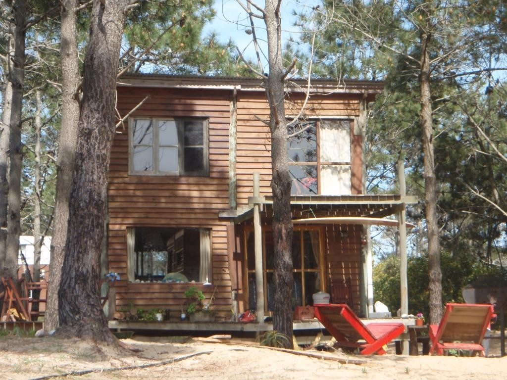 viele Hippies sind hierhin ausgewandert, hier das Haus von Gustavo und seiner Familie
