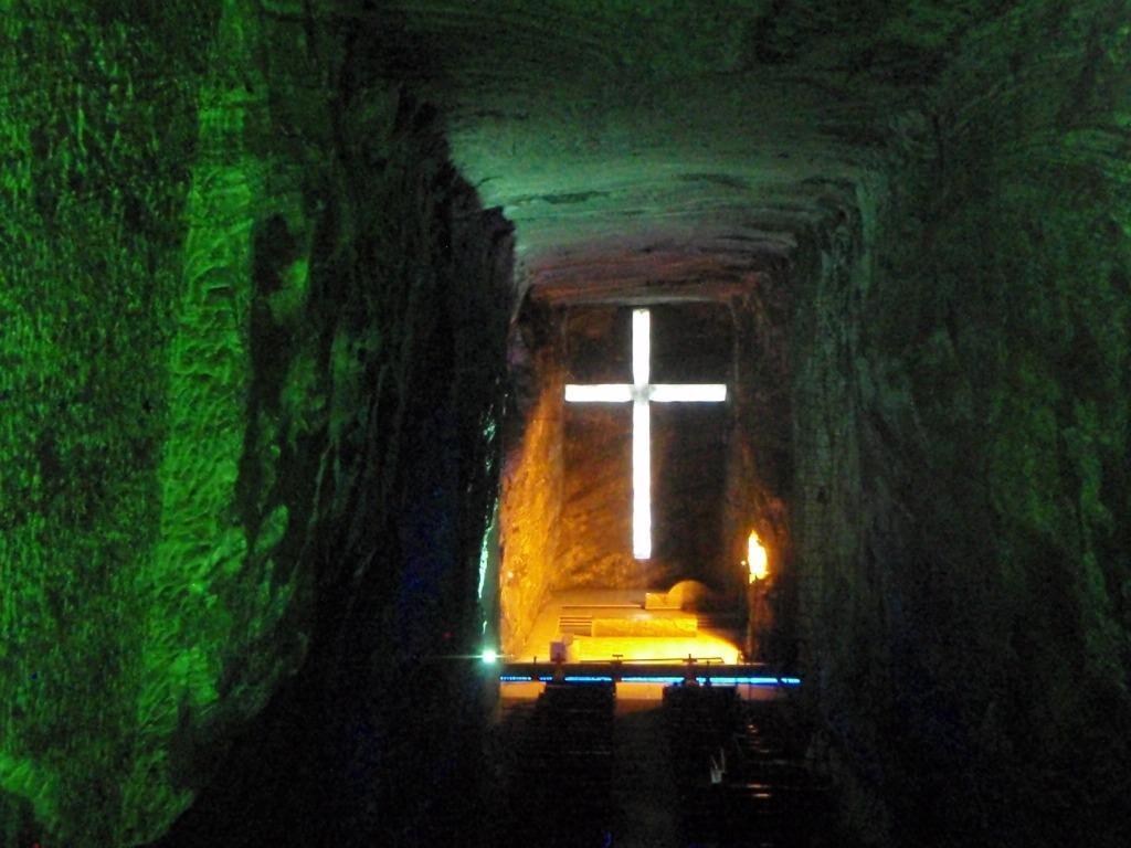 Die Hauptkathedrale in der Salzmiene