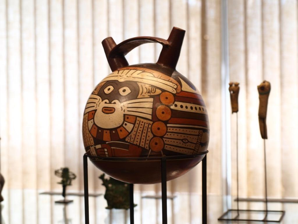 Eine prähistorische Flasche