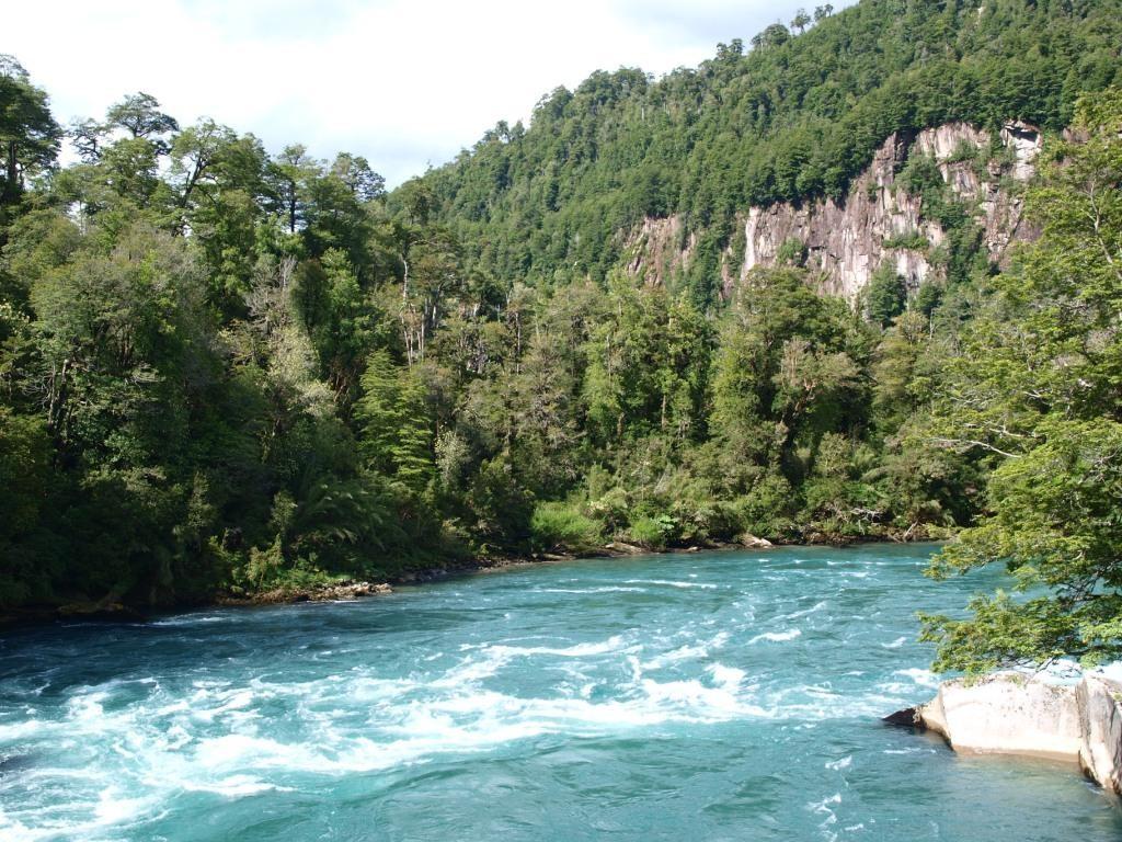Türkisblaue Flüsse...wie die meisten Gewässer hier