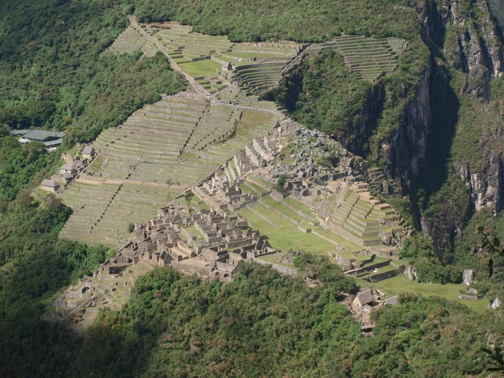 der Aufstieg des Wayna-Picchu ist die Aussicht wert