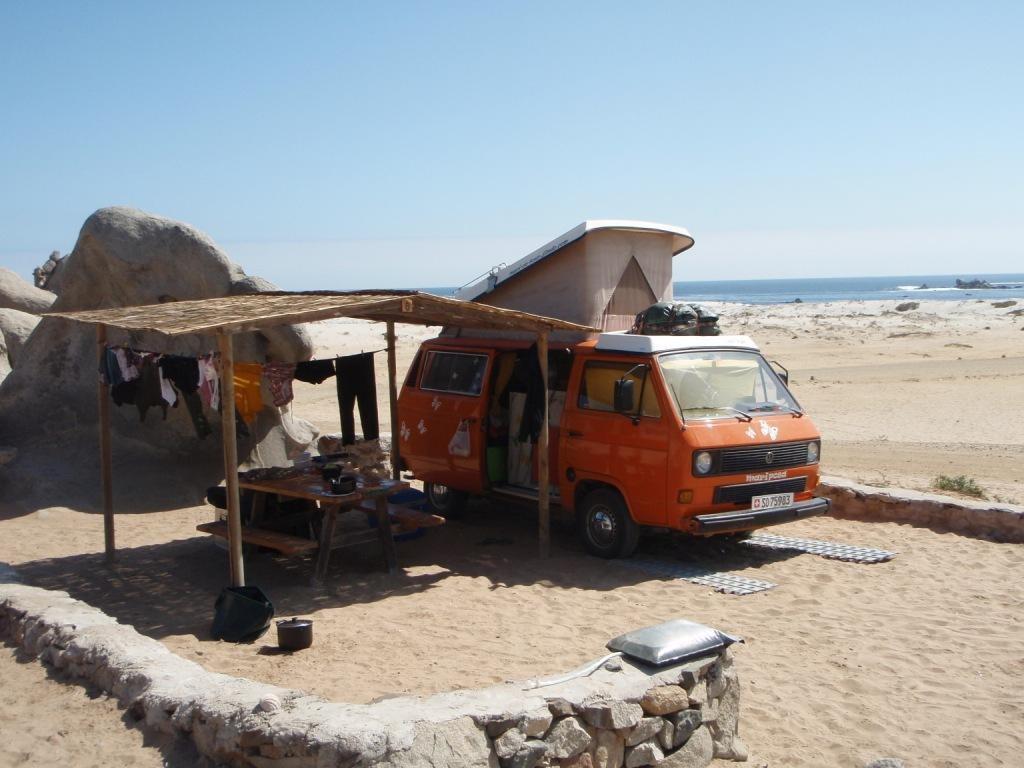 Sandbleche wurden eingeweiht, Nationalpark LIanos de Challe