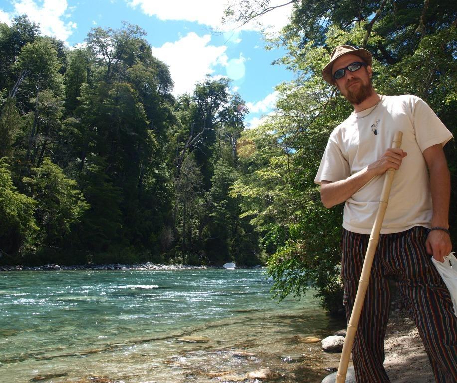Wandern am Rio Azul...