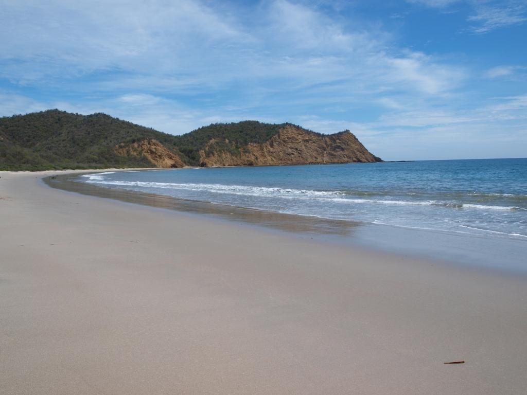 Los Frailes im N.P Machalilla, endlich einmal ein toller Strand