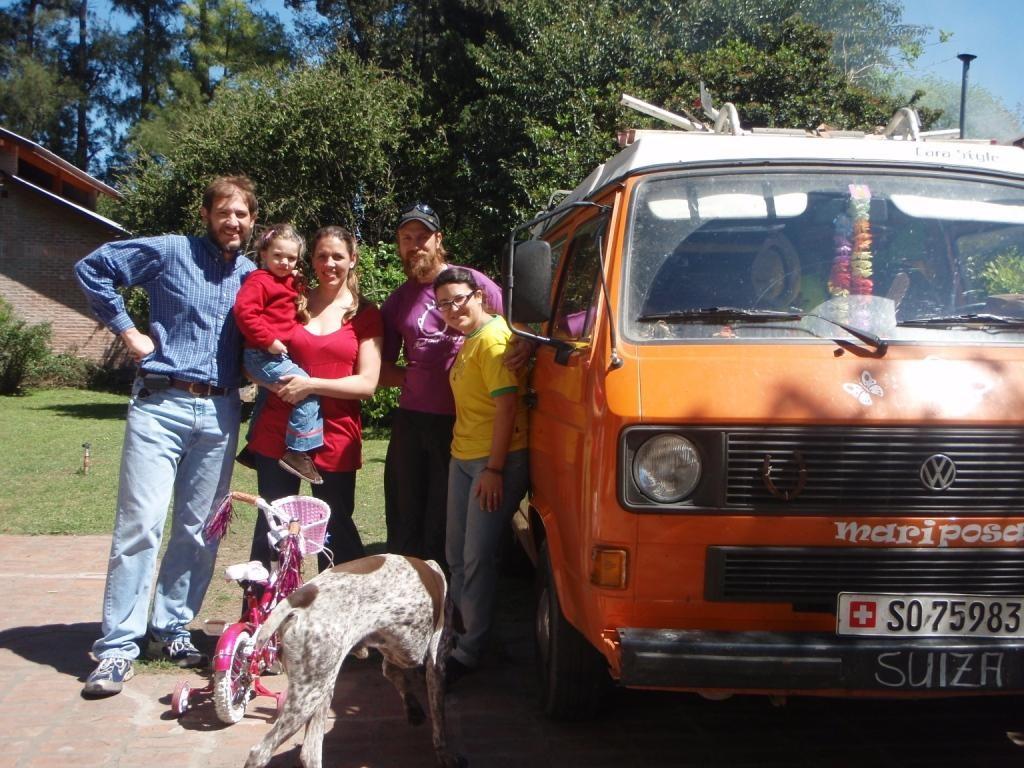 Und am Wochenende besuchten wir Gullie, Erika und Anneliese...