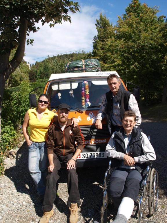 Gudrun und Volkmar aus Berlin waren auch da und gaben uns viele nützliche Reisetipps