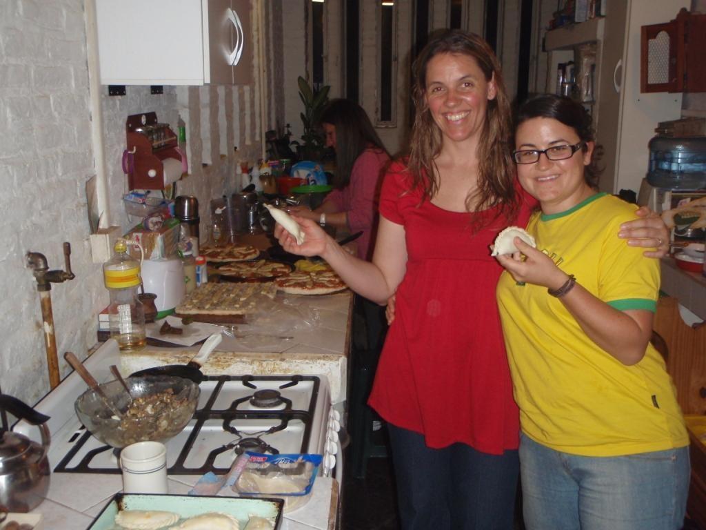 ...wir machten Empanadas...