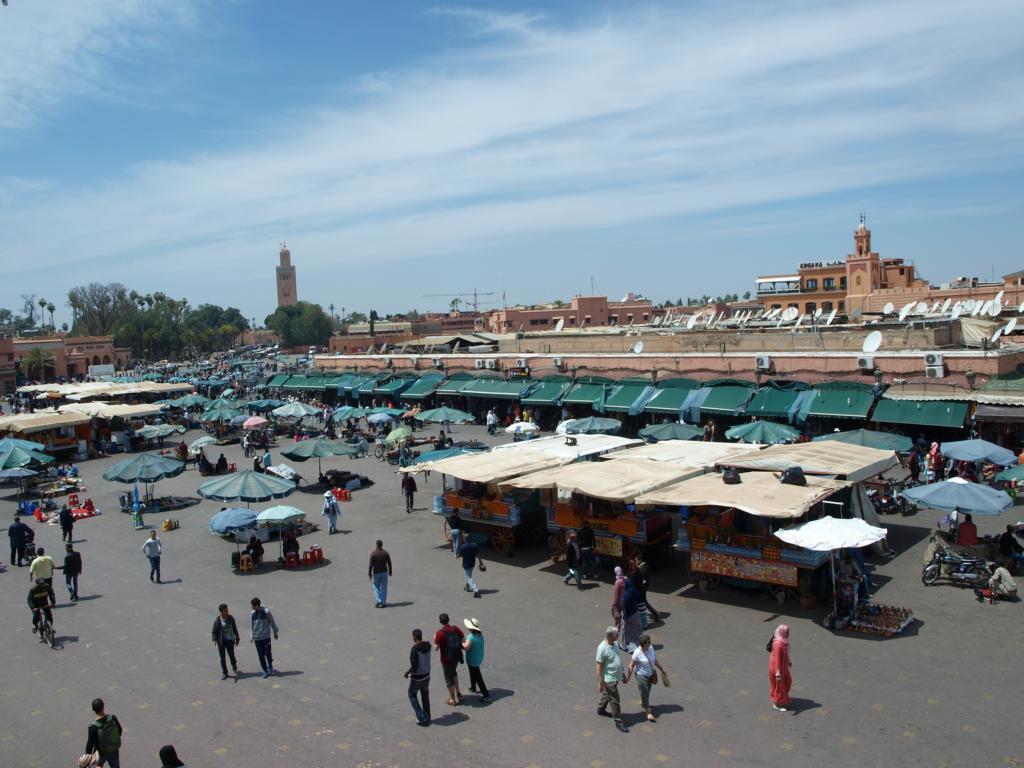 Marktplatz von Marrakesch