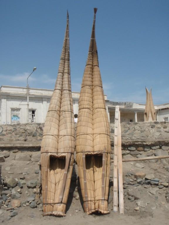 Huanchacos Fischerboote