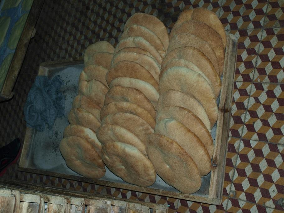 wie er leckeres Brot macht