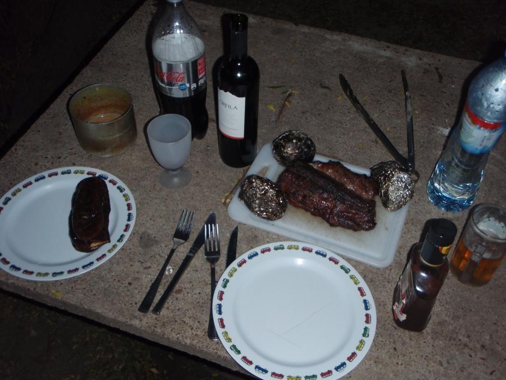 ...und doch wollten wir uns noch einmal gutes Fleisch gönnen.