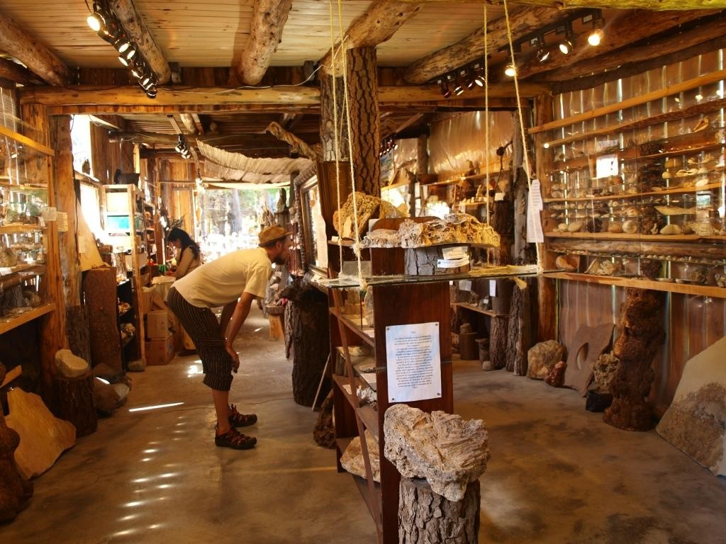 Im Steinmuseum...