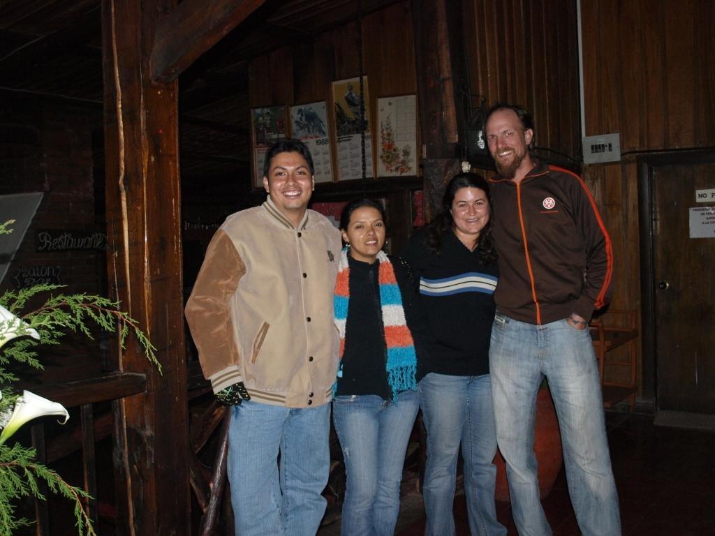 haben wir das frisch verheiratete Paar Maritza y Oscar kennengelernt