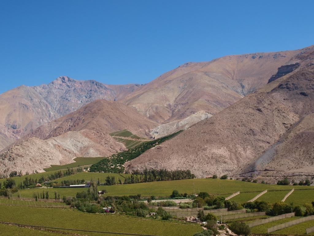 Fahrt durchs Valle Elqui