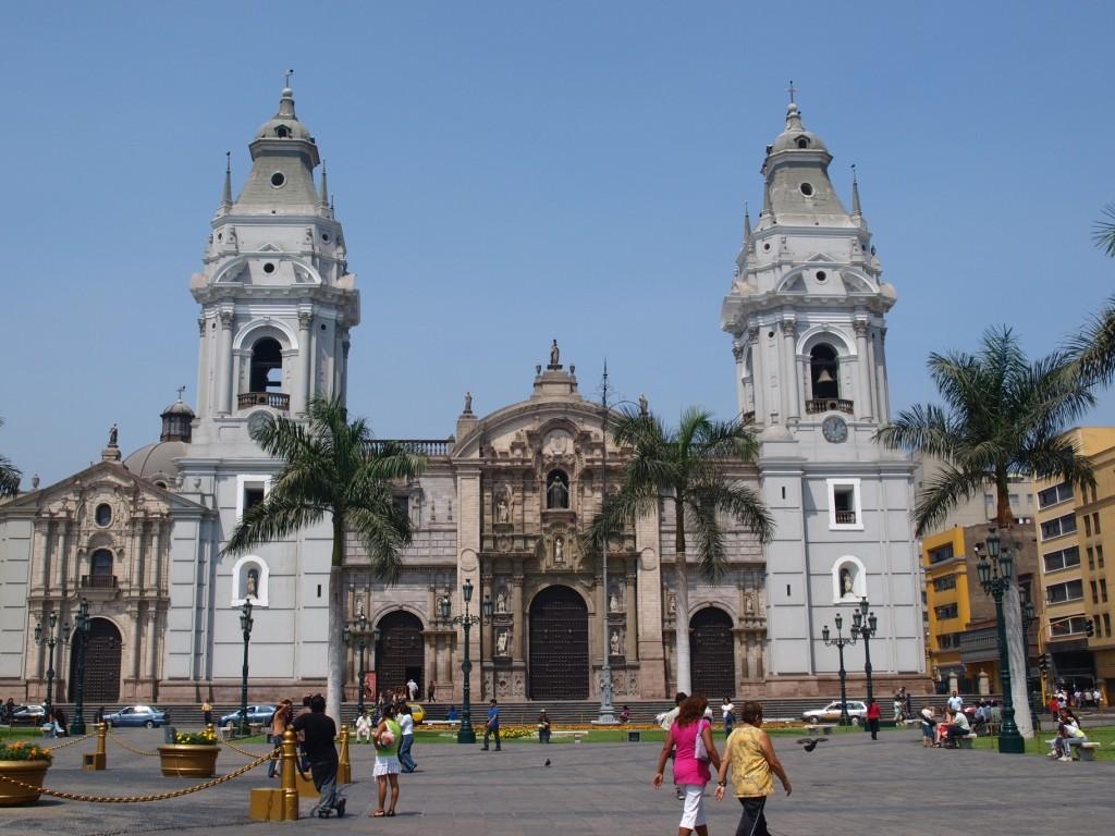 Lima aht einige schöne Gebäude zu zeigen...