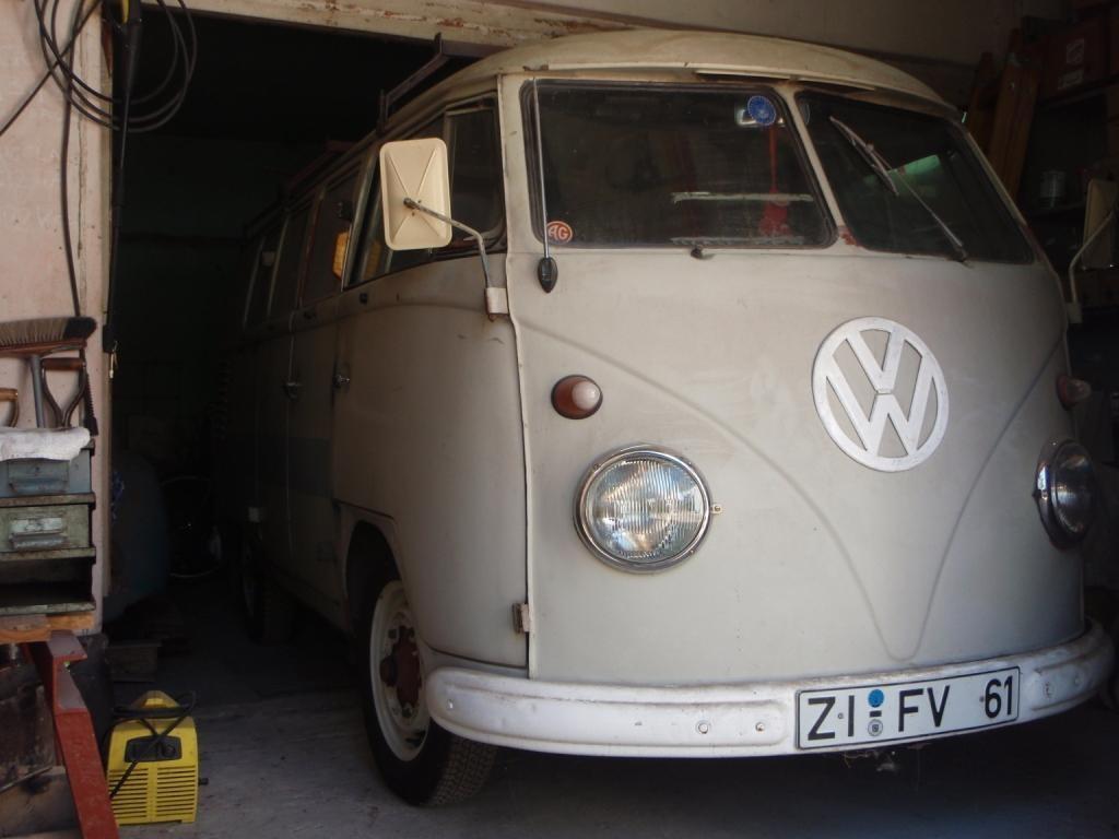Und hier ein Teil von Guilles Sammlung an VW's
