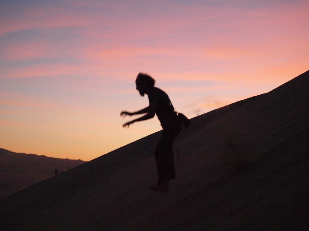 dafür macht das runter hüpfen, rutschen, springen umso mehr Spass