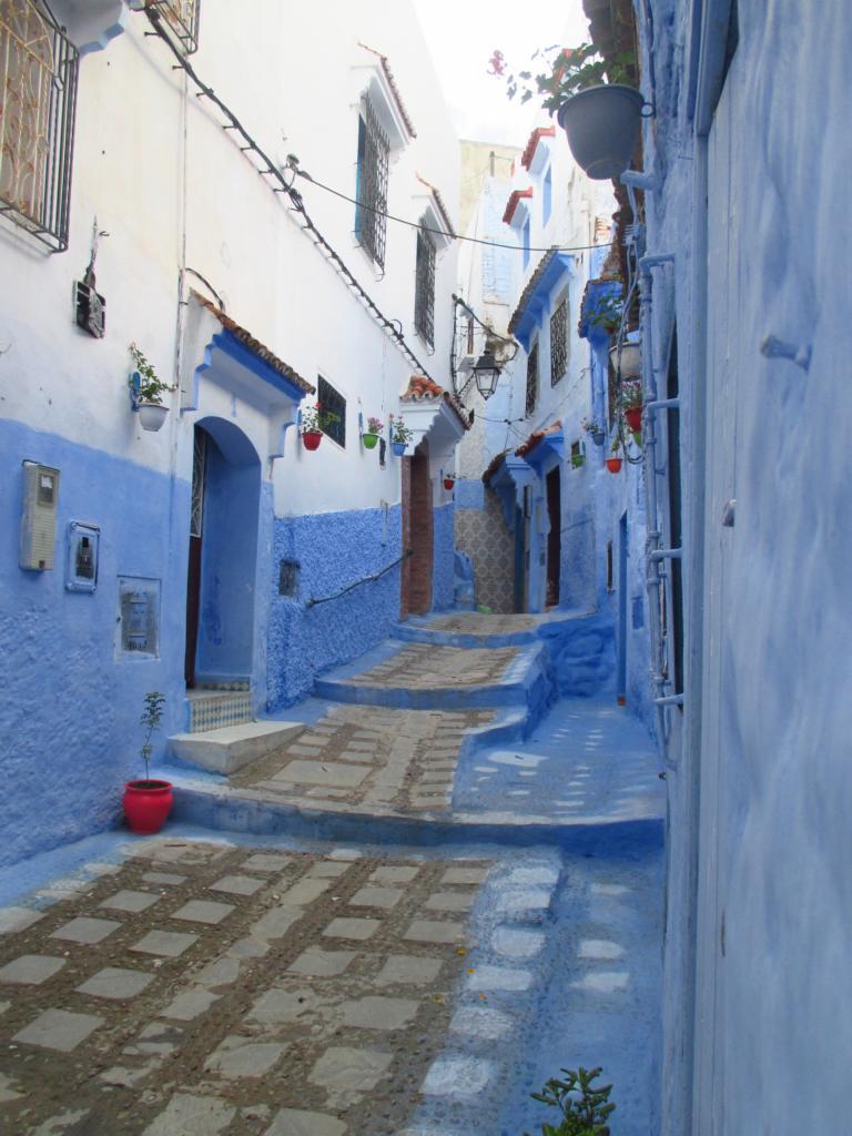 ...die Blaue Stadt...