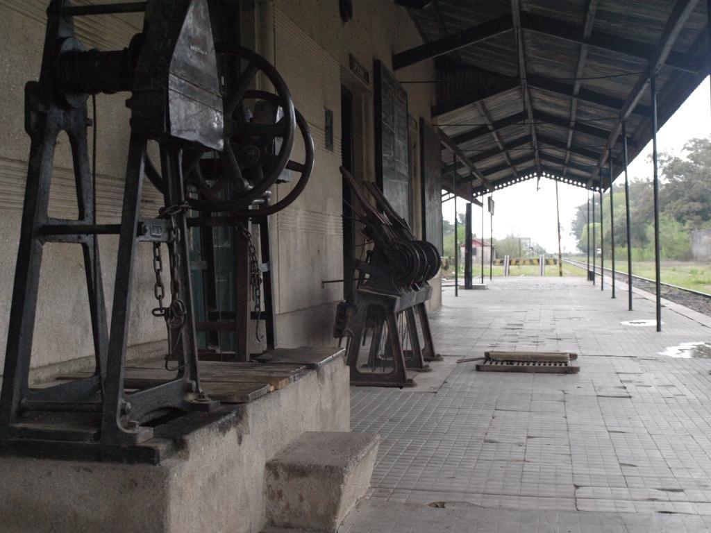 so hatten wir Zeit kurz beim nostaligischen Bahnhof von St. Lucia vorbeizuschauen