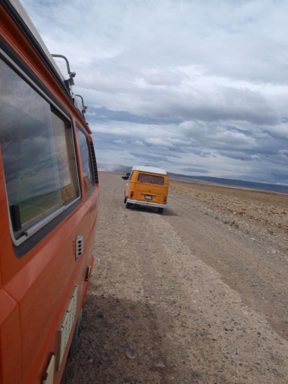 kurzer Smalltalk von Bus zu Bus