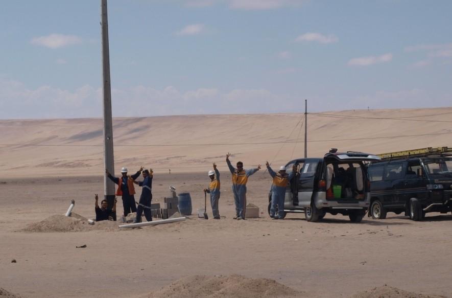 So wurden wir in Peru empfangen