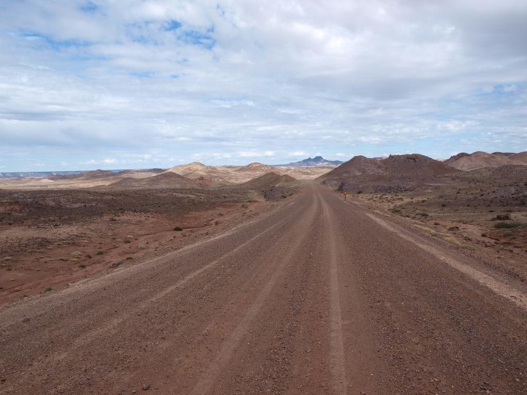 Auf dem Weg in den Nationalpark Bosques Petrificados