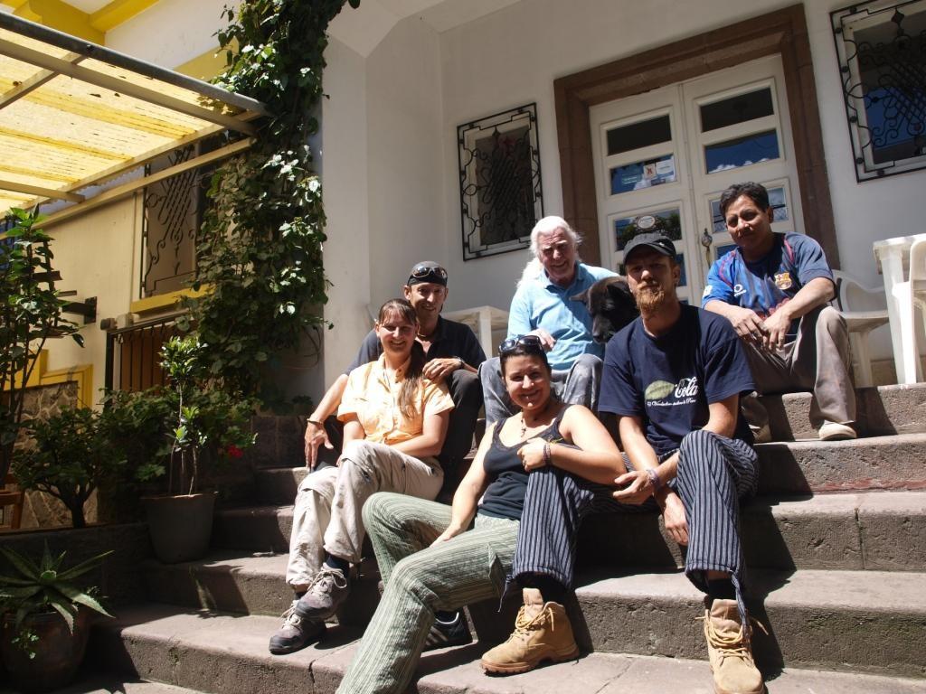 Wir sind bei Gerd in Quito angekommen und waren eine gute Gruppe