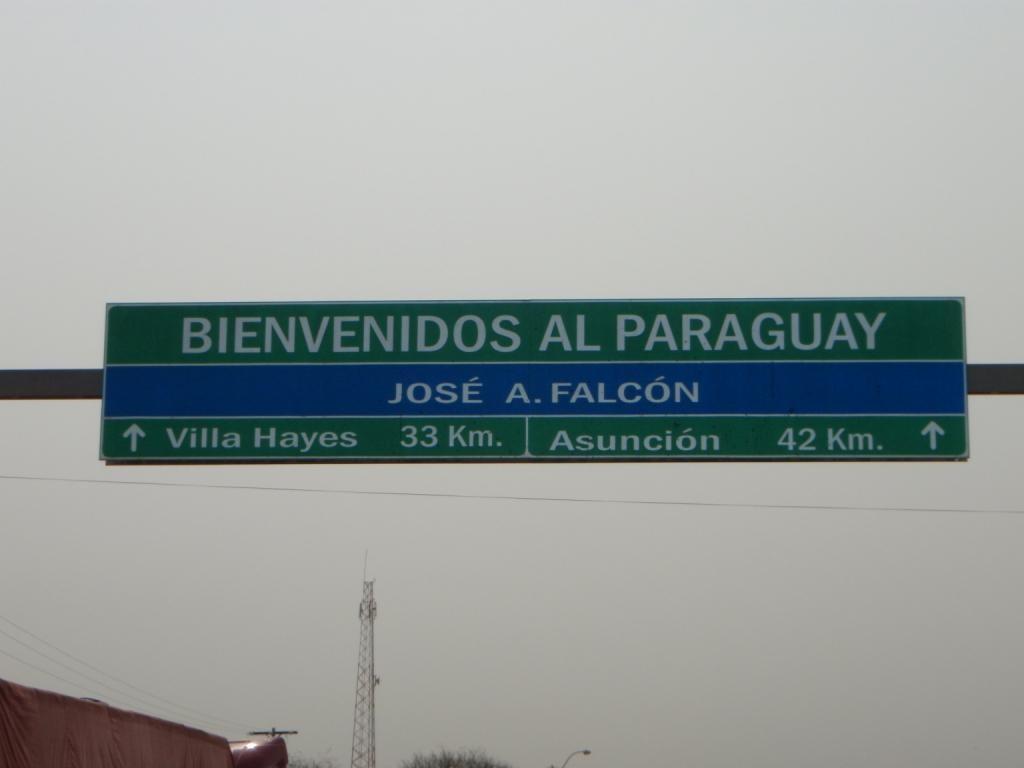 Wir habens doch für ein paar Tage nach Paraguay geschafft