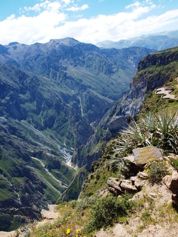 und der Canyon,
